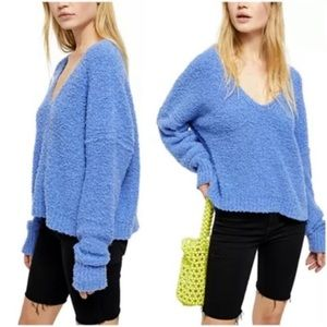NWT Free People Finders Keepers V-Neck Sweater